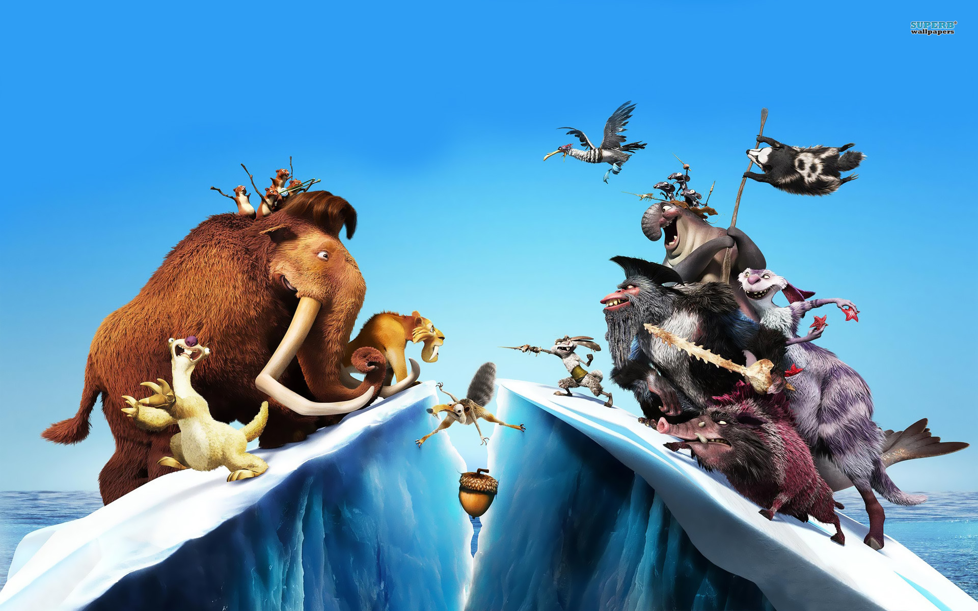 Film review ice age 4 buzzhub for Farcical movies
