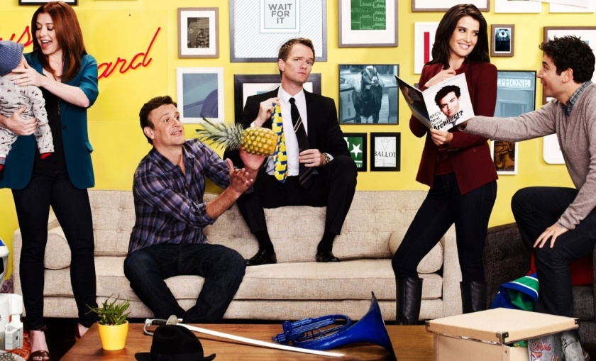 how i met your mother himym cobie smulders jason segel alyson radnor josh neil patrick harris robin