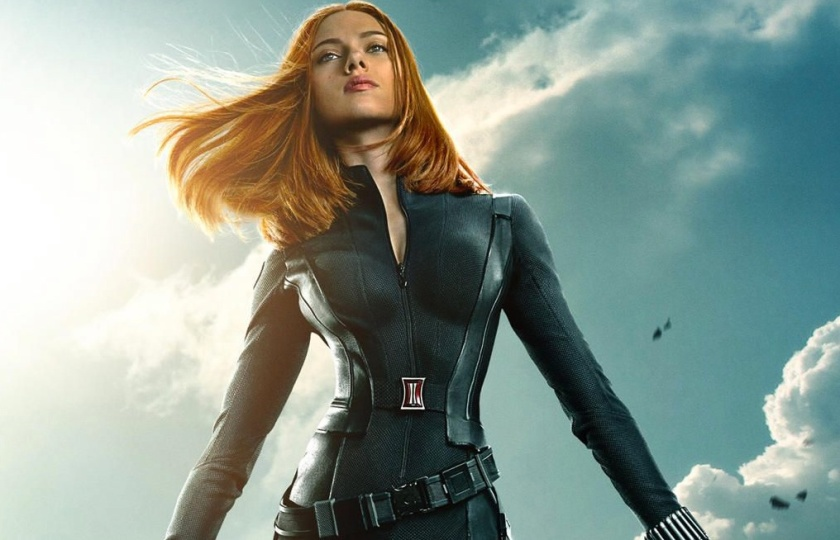 b9979688f6f Three  Captain America  The Winter Soldier  character posters feature Black  Widow