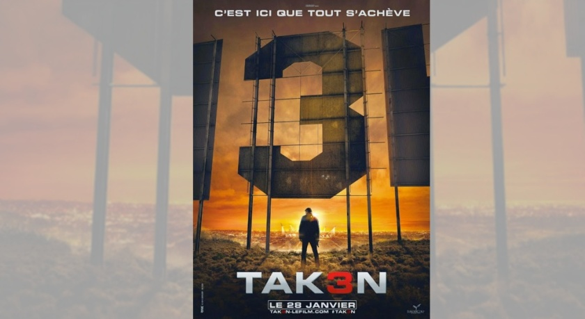 Taken 3 reveals first international poster | BuzzHub
