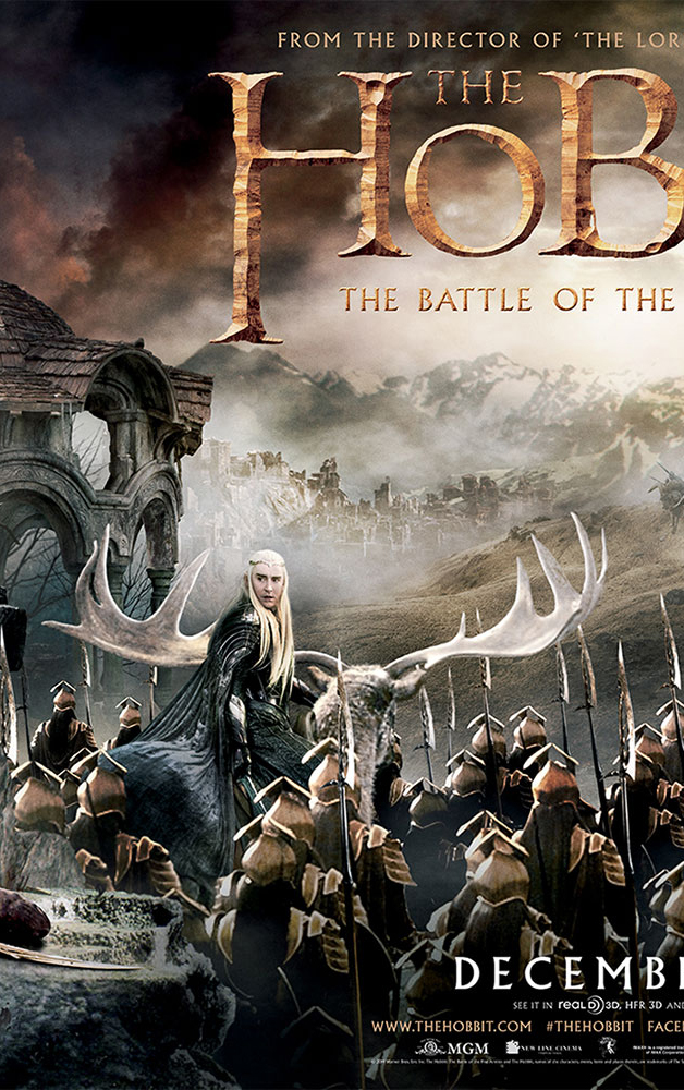 The Hobbit: The Battle of the Five Armies full tapestry ...