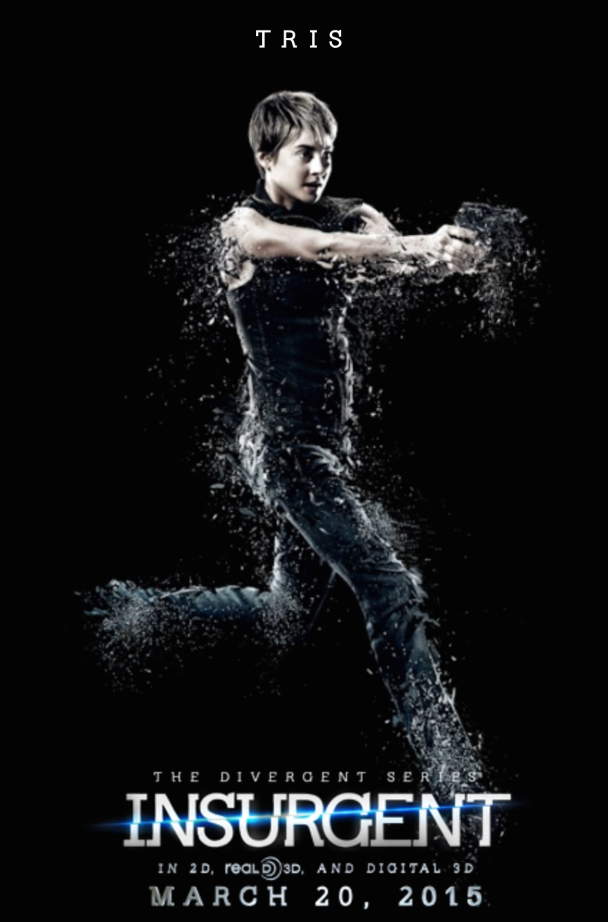 The Divergent Series: Insurgent reveals Tris and Four ...