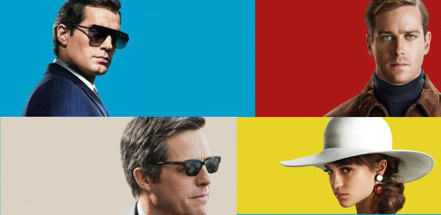 The Man From U.N.C.L.E reveals 5 character posters