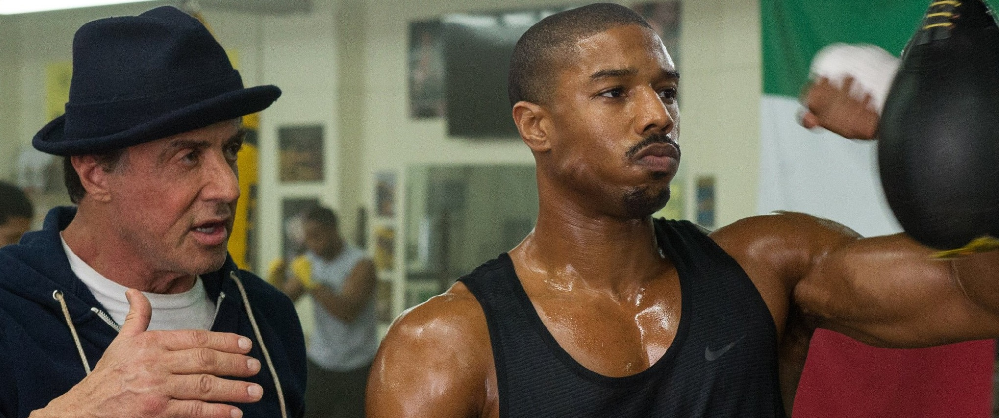 Sylvester Stallone and Michael B Jordan star in Creed's first trailer
