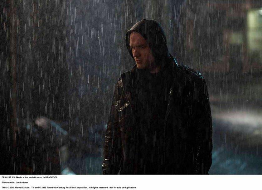DEADPOOL Ed Skrein is the sadistic Ajax, in DEADPOOL. Photo Credit: Joe Lederer TM & © 2015 Marvel & Subs. TM and © 2015 Twentieth Century Fox Film Corporation. All rights reserved. Not for sale or duplication.