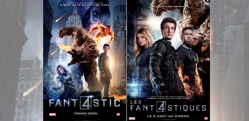 FANTASTIC FOUR: New international posters display the team's