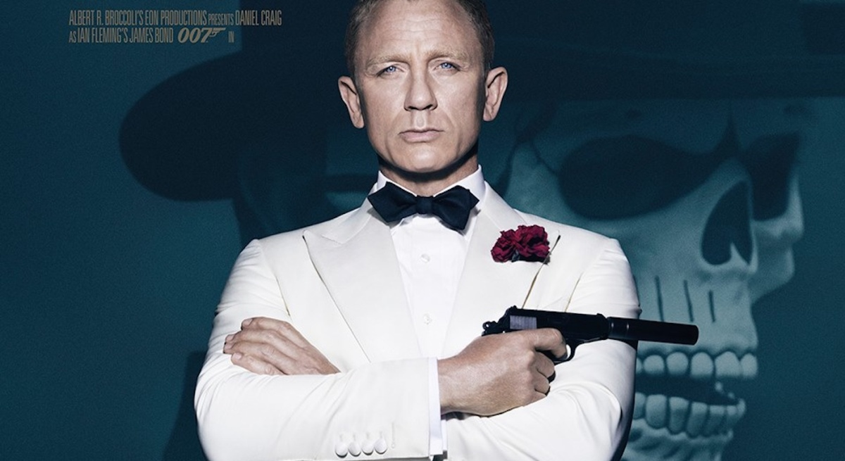 Bond meets death on SPECTRE one-sheet poster