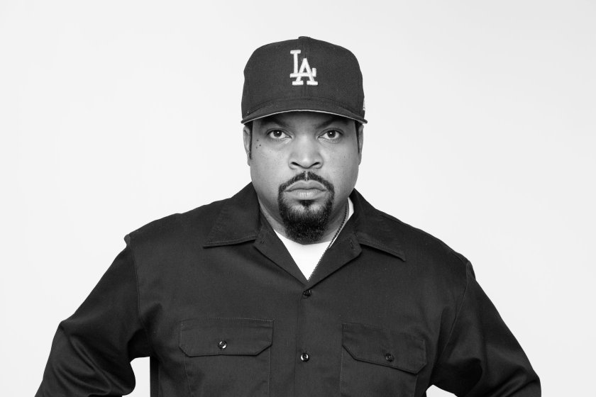 """In this Sunday, August 2, 2015 photo, Ice Cube poses for a portrait in promotion of the new film """"Straight Outta Compton"""" at the Four Seasons Hotel in Los Angeles. (Photo by Rebecca Cabage/Invision/AP)"""