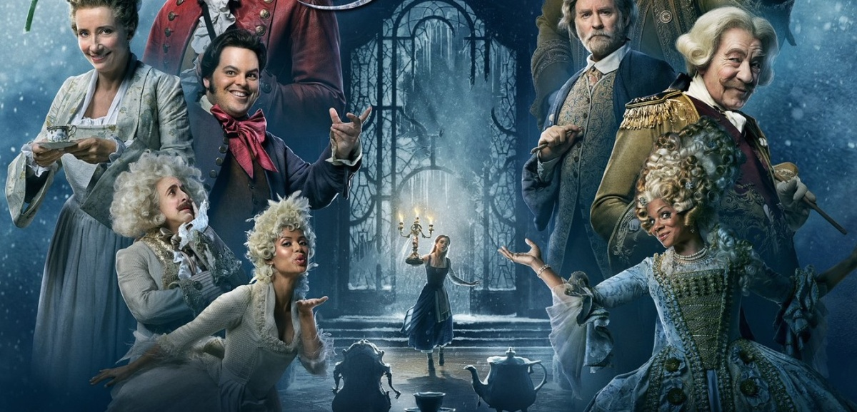 BEAUTY & THE BEAST one-sheet poster assembles the cast